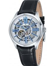 Thomas Earnshaw ES-8037-02 Mens Armagh Black Croco Leather Strap Watch
