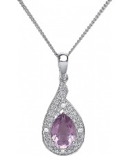 Purity 925 PUR3729P Ladies Necklace