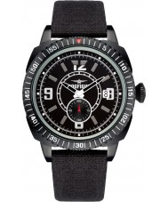 Dogfight DF0038 Mens Wingman Black Nylon Strap Watch
