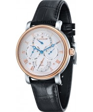 Thomas Earnshaw ES-8048-04 Mens Longcase Master Calendar Black Crock Leather Strap Watch