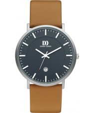 Danish Design Q29Q1157 Mens Brown Leather Strap Watch
