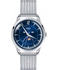 Henry London HL39-LM-0085 Knightsbridge Blue Silver Watch