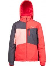 Protest Girls Sherry Junior Pink Cerise Snow Jacket