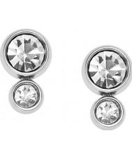 Fossil JF02526040 Ladies Silver Steel Earrings