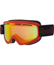 Bolle 21481 Schuss Shiny Red - Sunrise Ski Goggles
