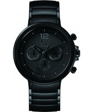 Zoom ZM-6063M-1502 Mens Planet Black Chronograph Watch