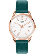 Henry London HL39-S-0132 Ladies Stratford White Mallard Green Watch