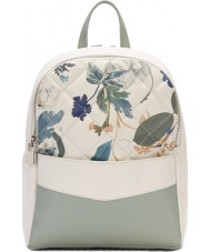 Fiorelli FH8658-PRINT Ladies Trenton White Botanical Print Backpack