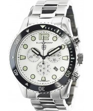 Elliot Brown 929-007-B01 Mens Bloxworth Silver Steel Chronograph Watch