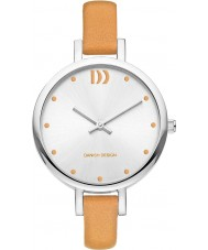Danish Design V29Q1141 Ladies Tan Leather Strap Watch