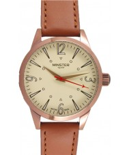 Minster 1949 MN01CRCU10 Mens Crofton Tan Leather Strap Watch