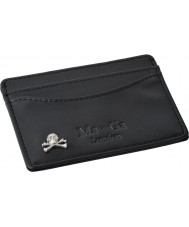 Chriselli Ma-Ga London Billy Bones Black Leather Card Holder