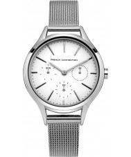 French Connection FC1273SM Ladies Silver Steel Bracelet Watch