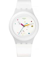 Swatch SUTW400 Sistem51 - Sistem White Automatic Watch