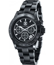 Klaus Kobec KK-10015-01 Racer Black Ceramic Chronograph Watch