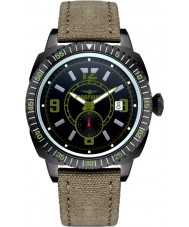 Dogfight DF0039 Mens Wingman Sand Nylon Strap Watch
