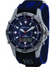 Kahuna K5V-0005G Mens Blue Velcro Watch