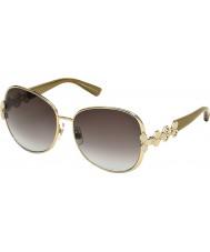 Swarovski Ladies Gold SK0073 Doreen Sunglasses