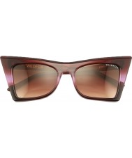 Wildfox Ladies Ivy Purple Ombre Sunglasses
