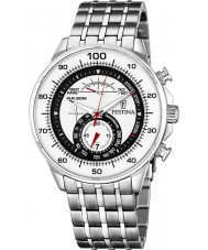 Festina F6830-1 Mens White Steel Chronograph Watch