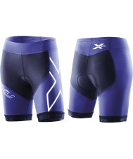 2XU Ladies Navy Blue Compression Tri Shorts