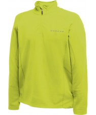 Dare2b Mens Fuseline II Lime Zest Core Stretch Midlayer
