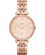 Fossil ES3546 Ladies Jacqueline Rose Gold Tone Watch