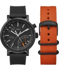Timex TWG012600 Mens Metropolitan Giftset with Extra Nylon Strap