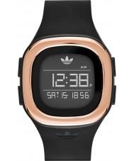 Adidas ADH3085 Denver Matte Black Silicone Strap Watch