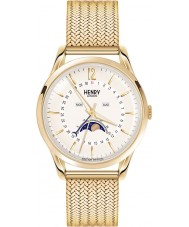 Henry London HL39-LM-0160 Westminster Pale Champagne Gold Watch