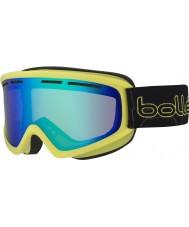 Bolle 21482 Schuss Shiny Lime - Green Emerald Ski Goggles
