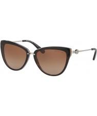 Michael Kors MK6039 56 Abela II Dark Tortoiseshell Lavender 314513 Sunglasses