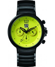 Zoom ZM-6063M-1511 Mens Planet Green Black Chronograph Watch