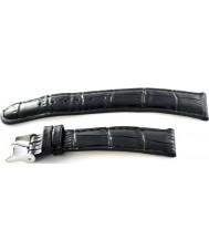 Krug Baümen 15058BLCKL Ladies Enterprise Black Leather Replacement Strap