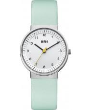 Braun BN0031WHTQL Ladies White Turquoise Watch