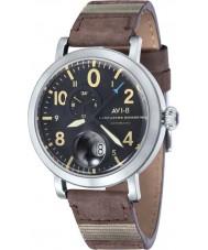AVI-8 AV-4038-01 Mens Lancaster Bomber Brown Leather Strap Watch