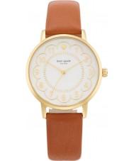 Kate Spade New York 1YRU0835 Ladies Metro Brown Leather Strap Watch