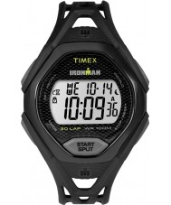 Timex TW5M10400 Mens Ironman Sleek Black Resin Strap Watch
