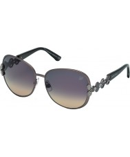 Swarovski Ladies Pink Beige K0073 Doreen Sunglasses