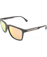 Emporio Armani EA4047 56 Modern Brown Rubber 53054Z Sunglasses
