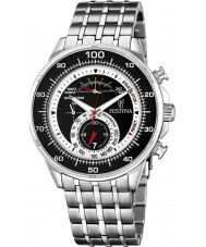 Festina F6830-2 Mens Black Steel Chronograph Watch