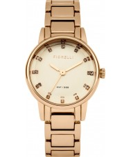Fiorelli FO020RGM Ladies Rose Gold Plated Bracelet Watch