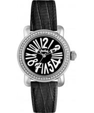 Pocket PK1011 Ladies Rond Crystal Petite Black Watch