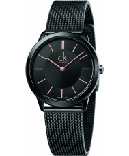 Calvin Klein K3M22421 Ladies Minimal Black Steel Mesh Bracelet Watch