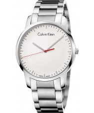 Calvin Klein K2G2G1Z6 Mens City Silver Steel Bracelet Watch