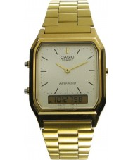 Casio AQ-230GA-9DMQYES Collection Classic Gold Plated Watch