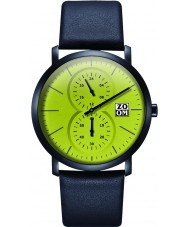 Zoom ZM-7100M-2511 Mens Muse Green Black Watch