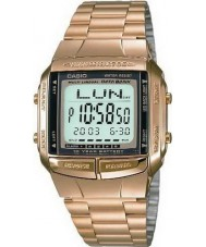 Casio DB-360GN-9AEF Collection Databank Gold Plated Watch