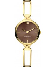 Danish Design V66Q1139 Ladies Gold Plated Bracelet Watch
