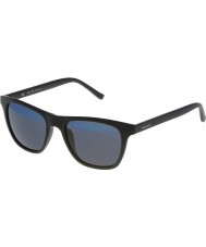 Police Mens Hot 1 S1936V-U28B Matt Black Mirrored Blue Sunglasses